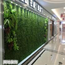 仿真草坪墙 植物墙 仿真花墙 文化墙景观设计施 河北生态植物