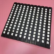 阻燃抗靜電陶瓷橡膠板 滾筒冷包膠ZJ陶瓷膠板 耐磨陶瓷膠板