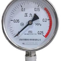 YTF-100精密不銹鋼壓力表1.6級