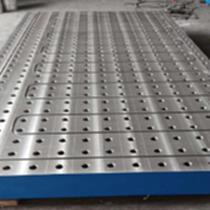 鑄鐵平臺 T型槽焊接平臺加厚檢驗鑄鐵平板 劃線裝配平臺異型平