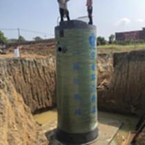 湖南長沙宜青環保玻璃鋼一體化泵站