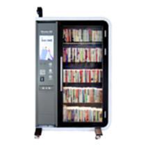 紐曼小紐智能圖書柜NB2102自助借書機共享圖書架可移動