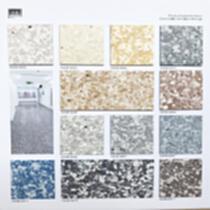防滑防水胶地板 卷材地板胶 PVC卷材地胶  奥格期堡